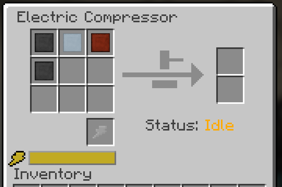 If automating complex recipes with galacticraft electric