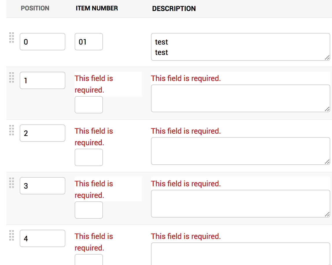 Automatic extras on nested inlines causes field is required error