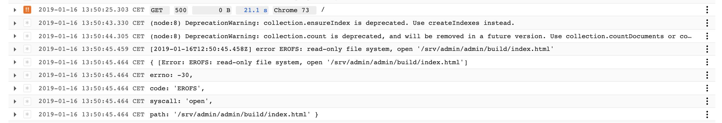 Error when deploy to Google App Engine · Issue #2146