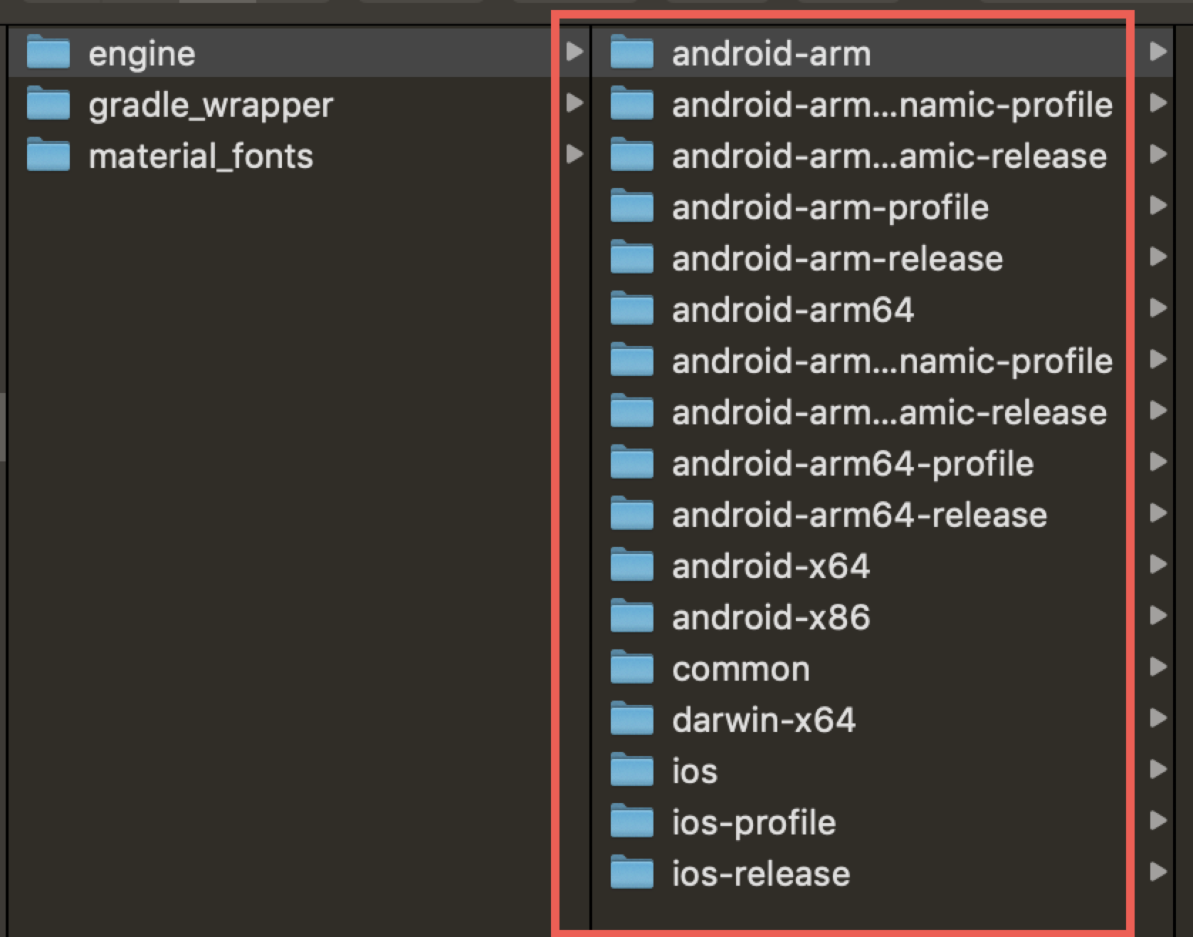 How to make artifacts of own engine build? · Issue #26682 · flutter
