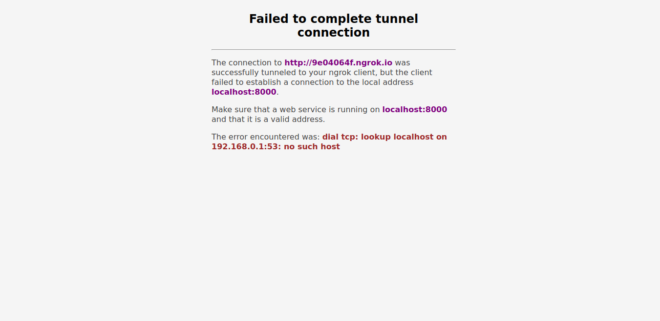 Failed to complete tunnel connection · Issue #478