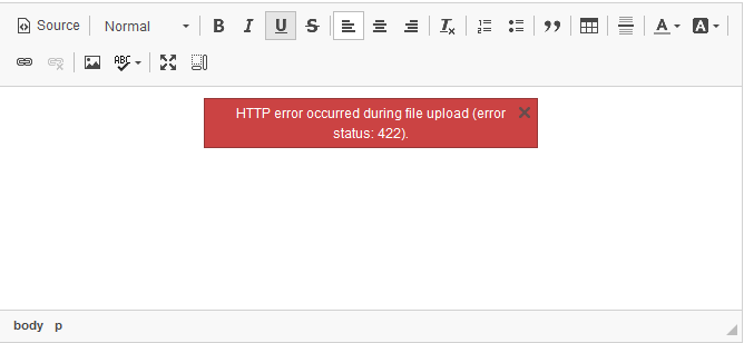 Undefined message when uploading file · Issue #829