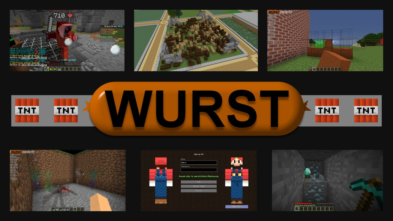 Wurst v1.10.2-BETA MC