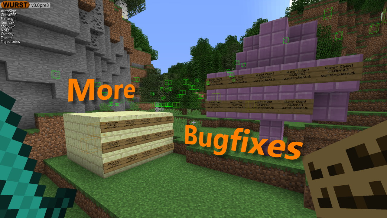 Wurst 3.0pre3 - Bugfixes & More