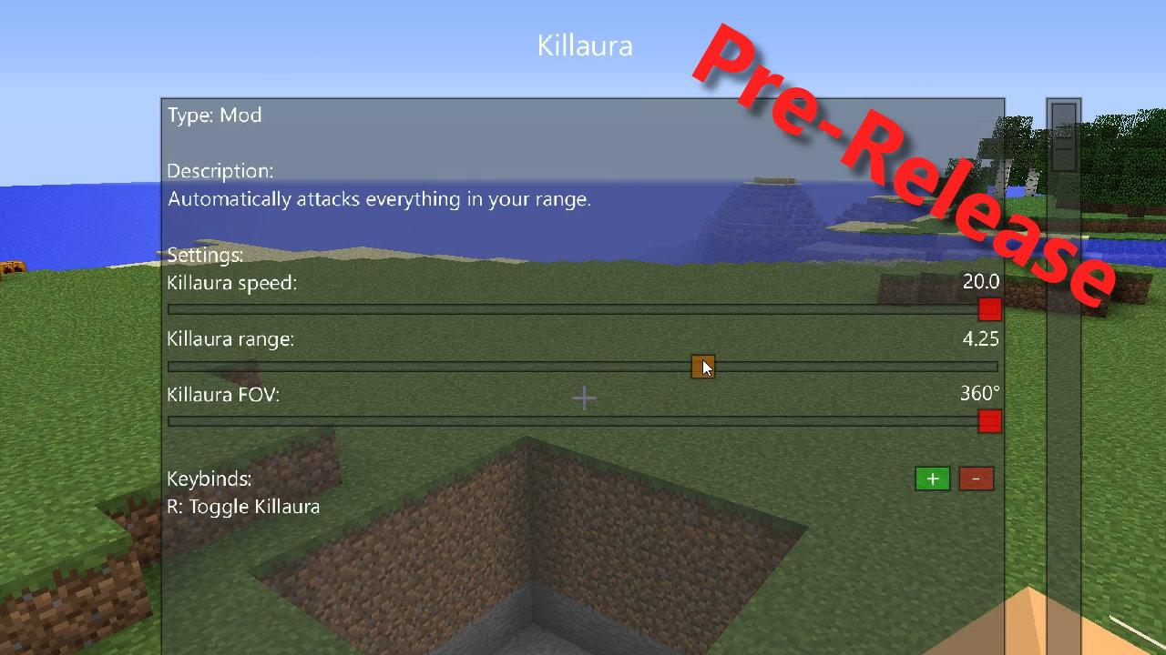 kill aura mod