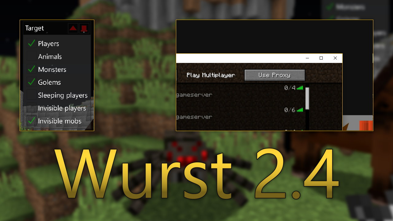 Wurst 2.4 - Better Target, Proxy Support, Bugfixes