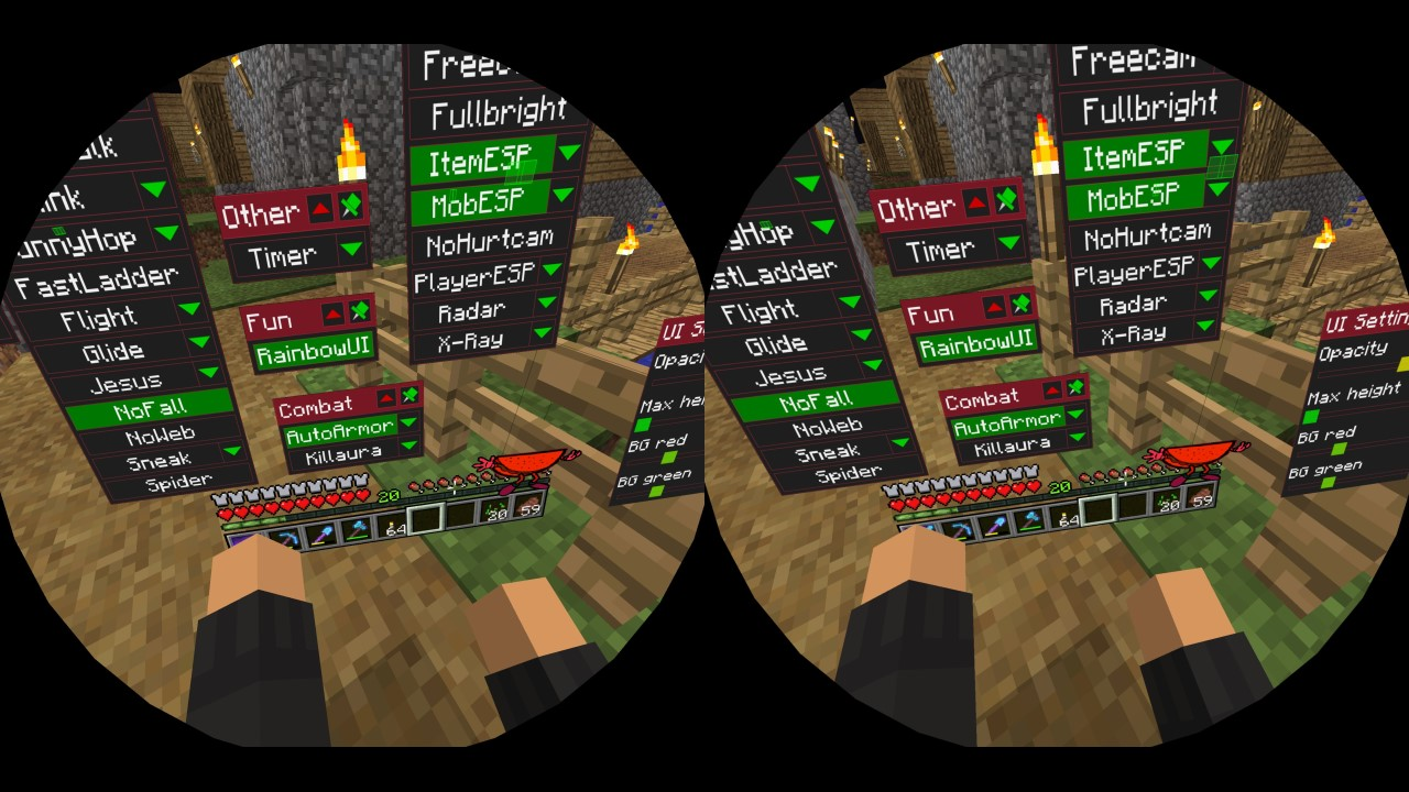 ForgeWurst 0.9 Beta - ViveCraft Support