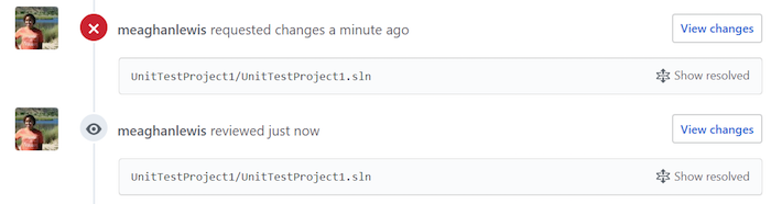 Resolve comments in Visual Studio · Issue #2101 · github