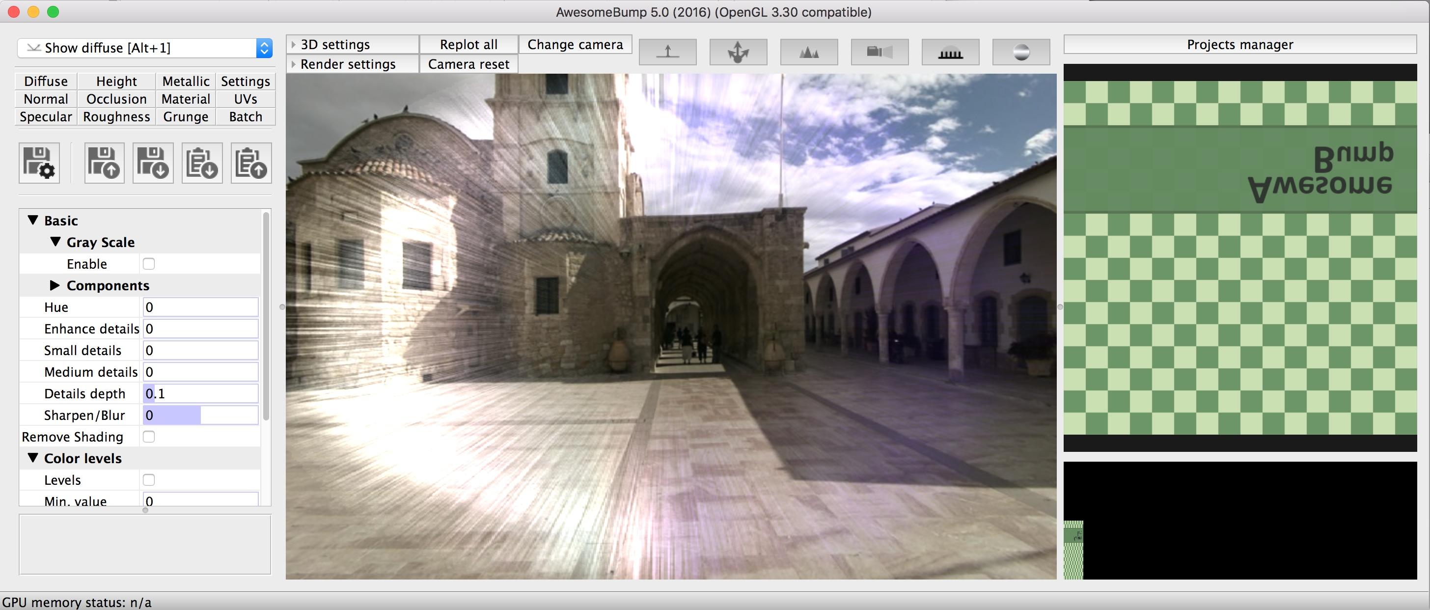 Black screen in 3D view (Ubuntu 18 04 1 LTS) · Issue #142