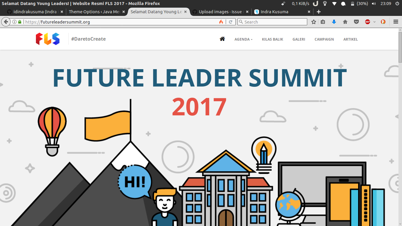 Landing Page - https://futureleadersummit.org