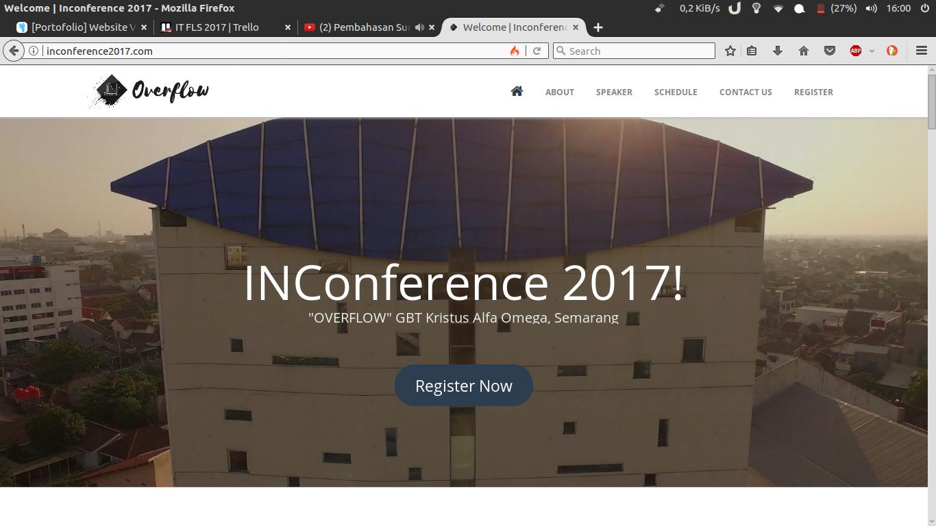 [Portofolio] Web Apps INConference 2017