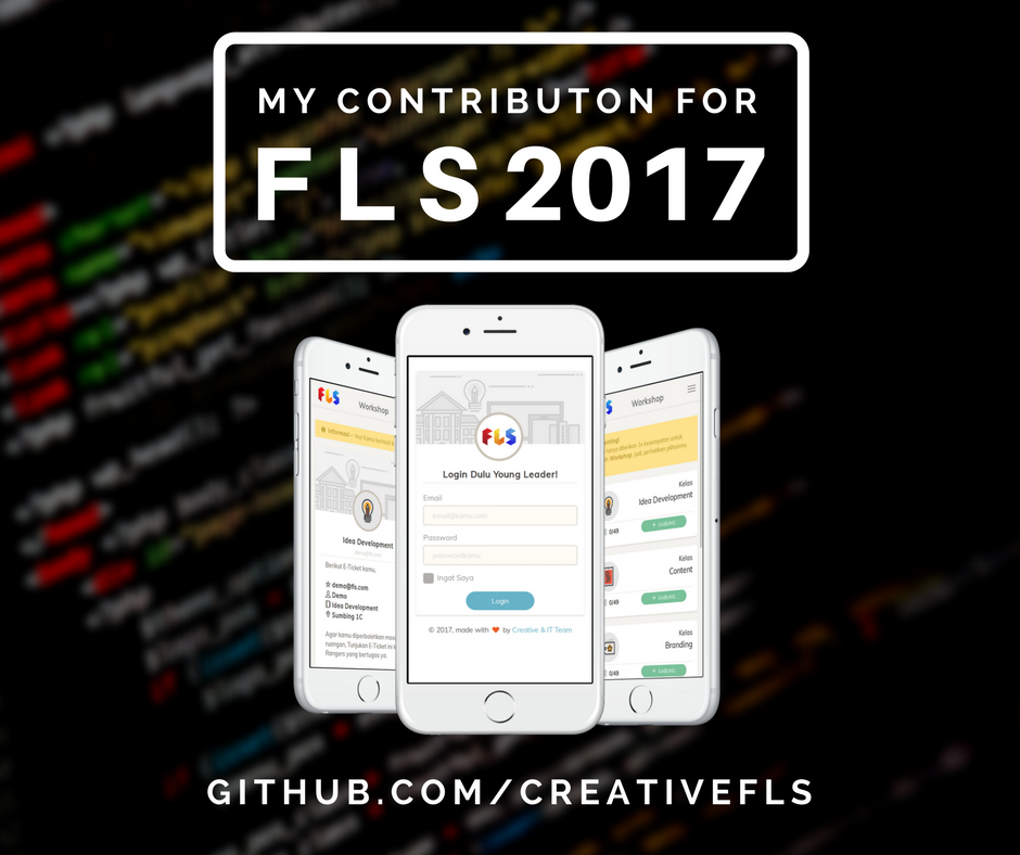 My Contribution for FLS 2017 [Part 1]