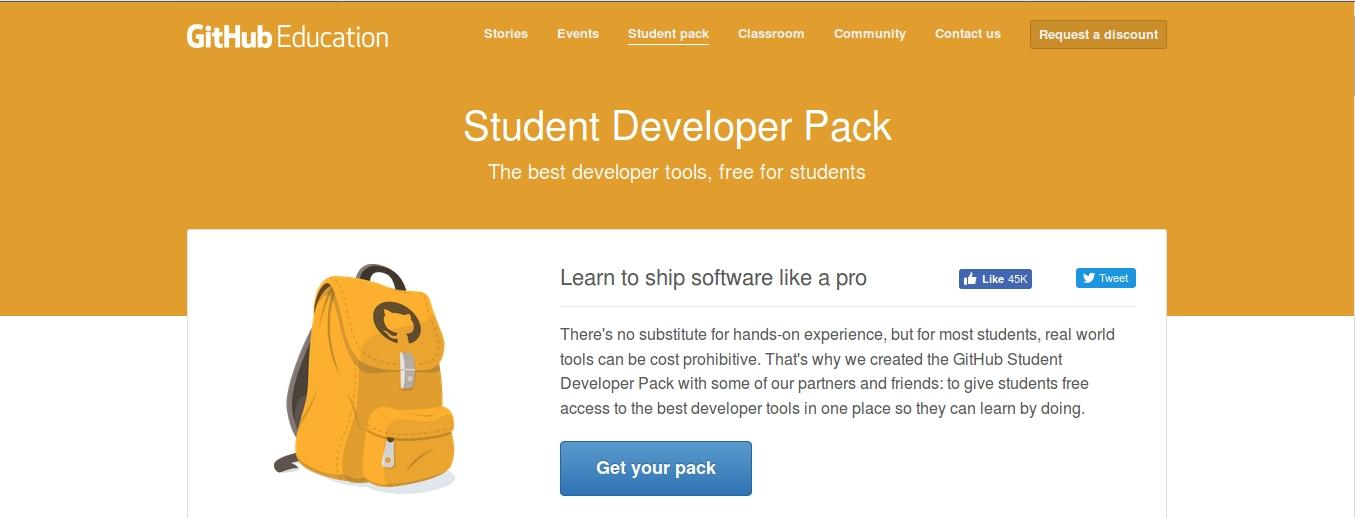 Github Student Pack - Blog.indrakusuma.web.id
