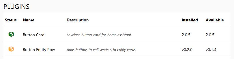 custom-cards ( Custom cards for Home Assistant )