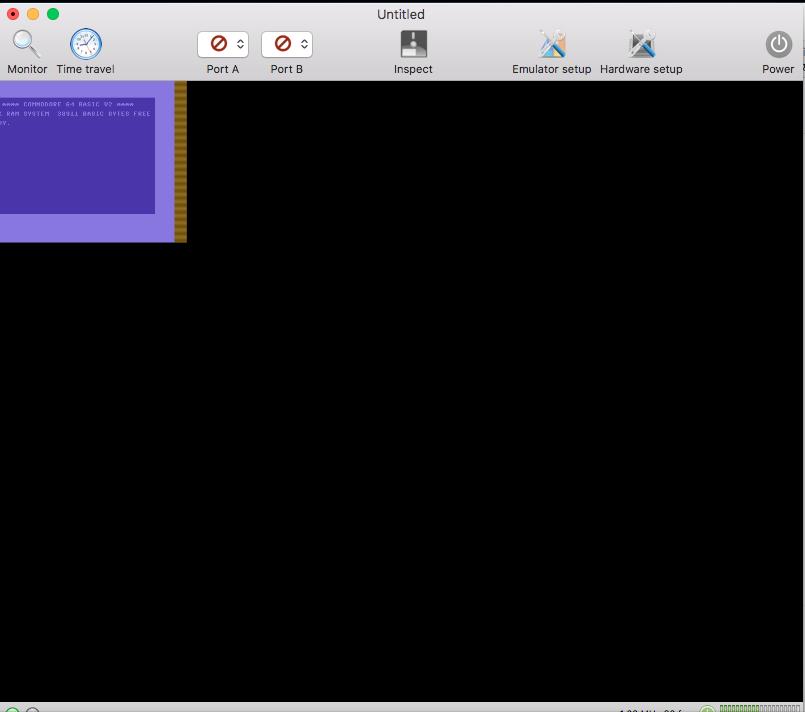 Tiny C64 screen · Issue #299 · dirkwhoffmann/virtualc64 · GitHub