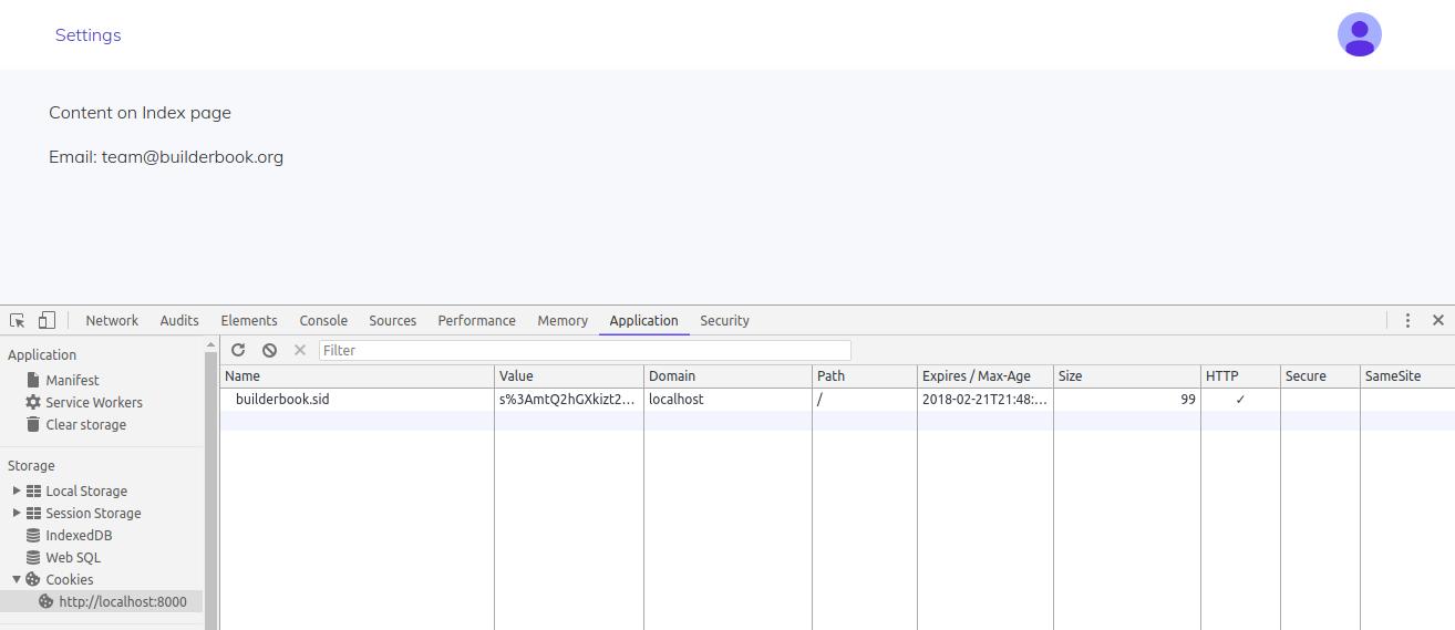 builderbook] Builder Book - Chapter 2  Server  Database  Session
