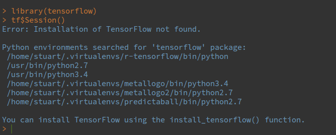 Error importing tensorflow python package · Issue #229