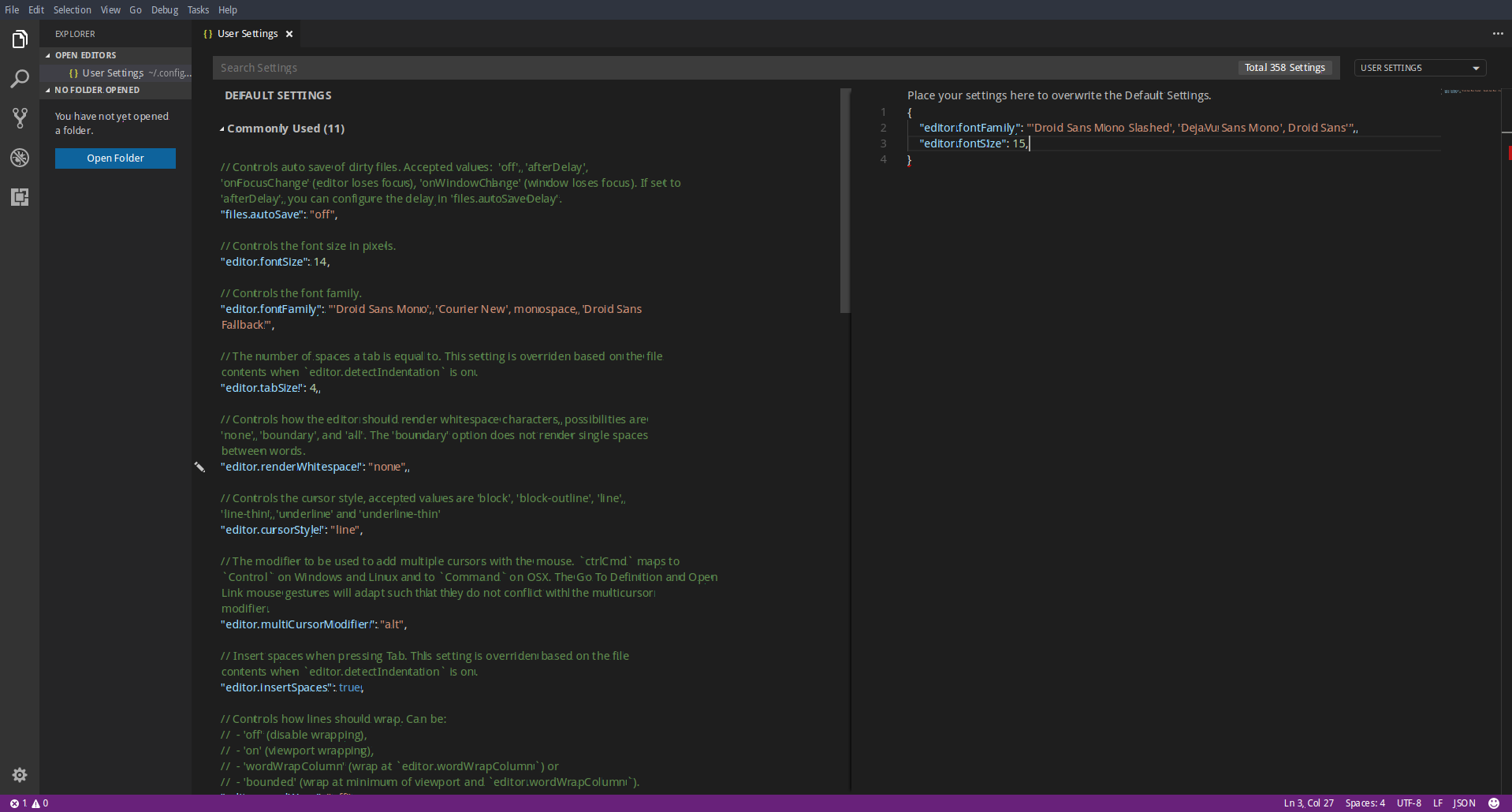Font rendering looks ugly on Linux · Issue #35675 · microsoft/vscode