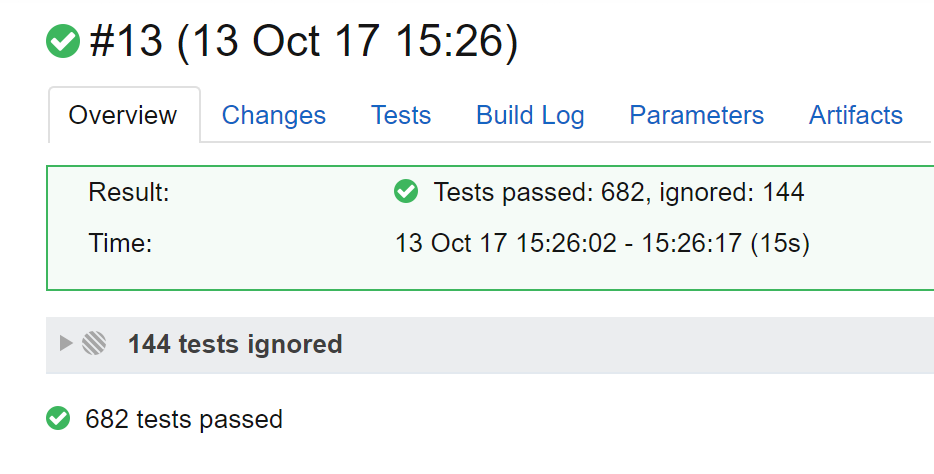 Duplicated number of tests · Issue #91 · JetBrains/teamcity