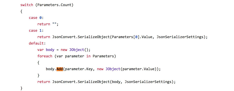 Can not add Newtonsoft Json Linq JValue to Newtonsoft Json Linq
