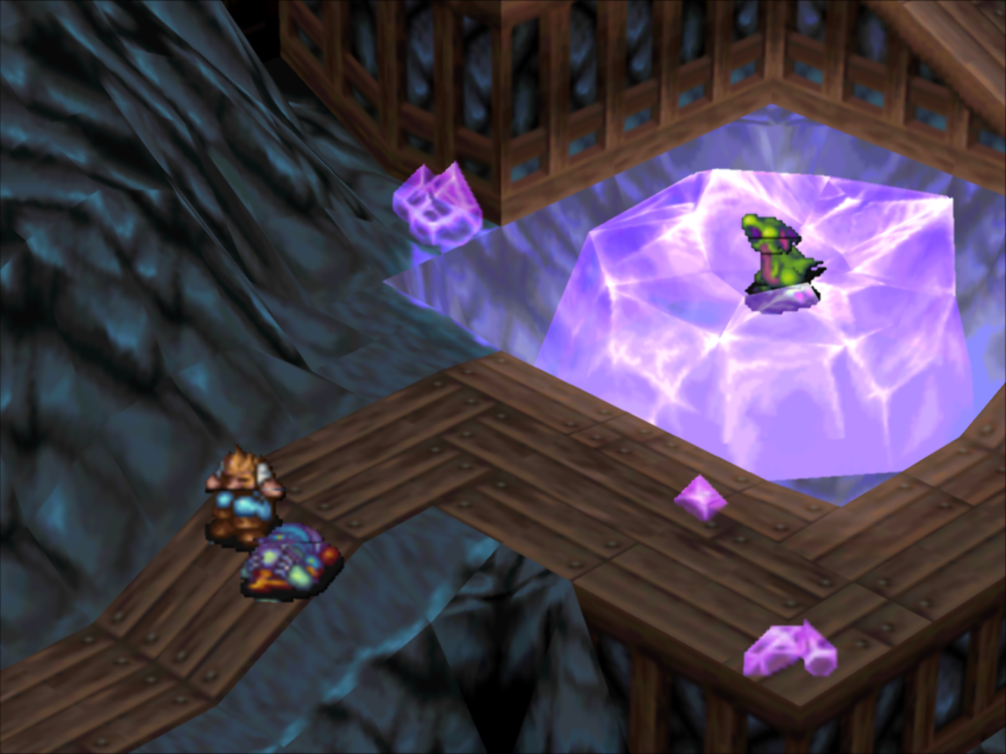 OpenGL] Breath of Fire 3 - Sprites have black lines · Issue