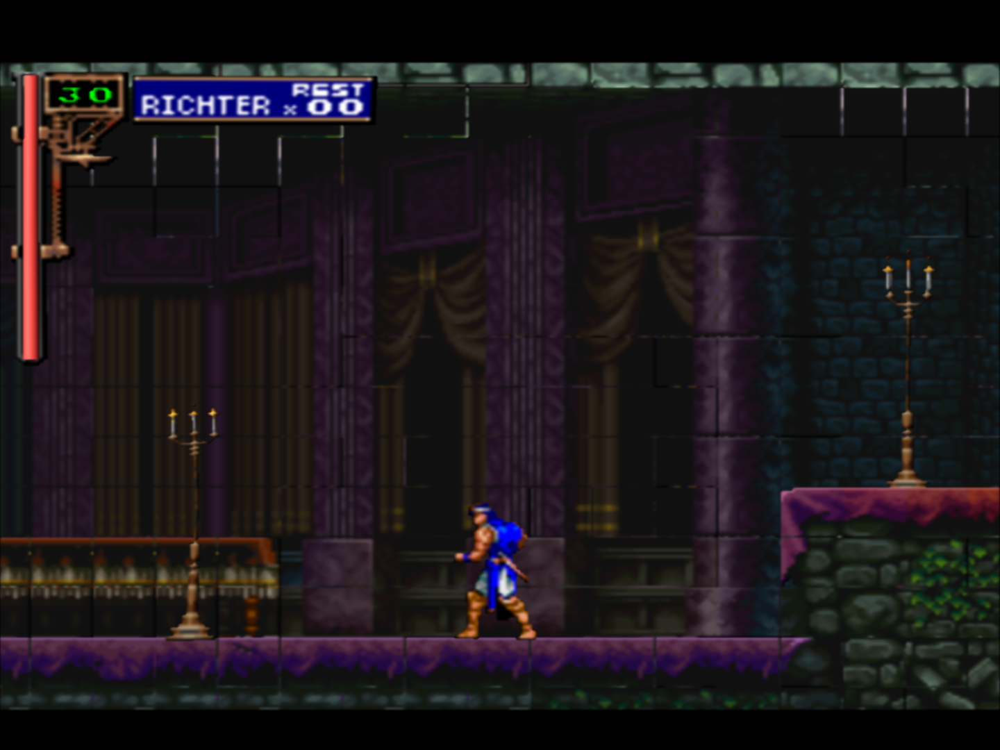 OpenGL] Castlevania Symphonia of the Night - Sprite Tiles and