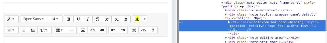 Is there a way to set toolbar top value? · Issue #2697