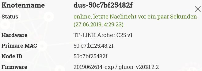 tp-link-archer-c25-v1] nodeid/primary mac not matching