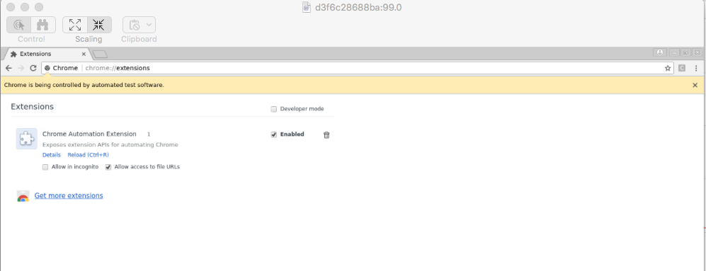 Chrome extensions not loading in 3 8+ · Issue #642
