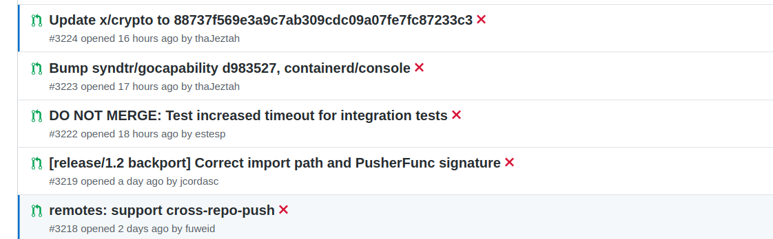 continuous-integration/appveyor/pr fails recently · Issue