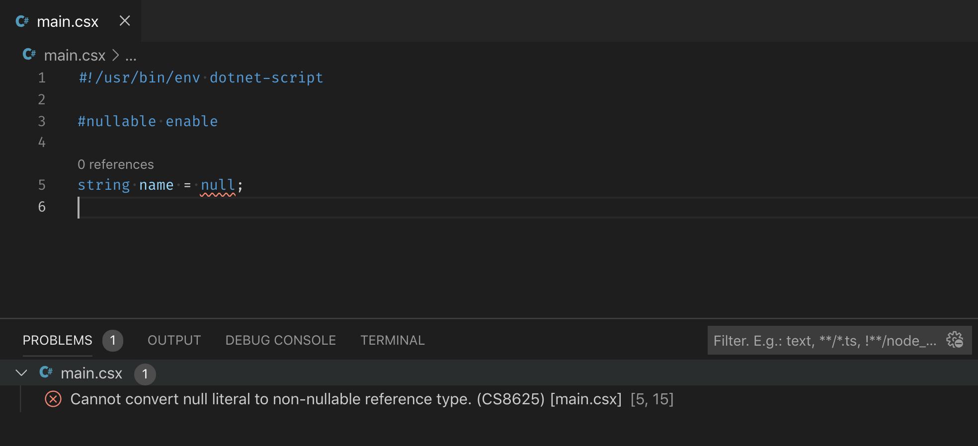 GitHub - filipw/dotnet-script: Run C# scripts from the  NET CLI