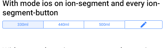 ionic4 rc1] ion-segment-button doesn't inherit ion-segment mode=