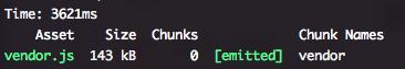 @构建 vendor.js 文件的时间|center
