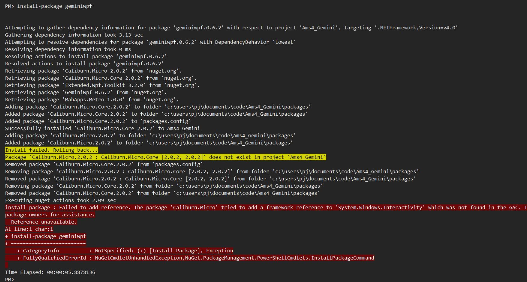 Can't install using NuGet · Issue #279 · tgjones/gemini · GitHub