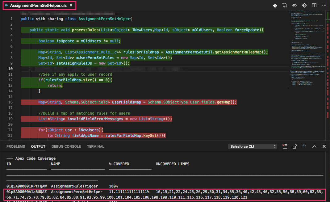 Unable to Retrieve Code Coverage for Apex Tests · Issue