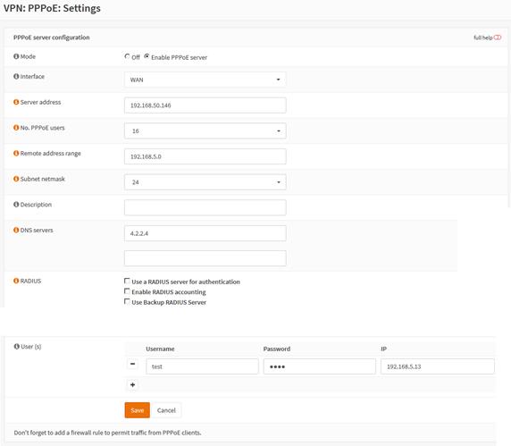 PPPoE Server Problem · Issue #1007 · opnsense/plugins · GitHub