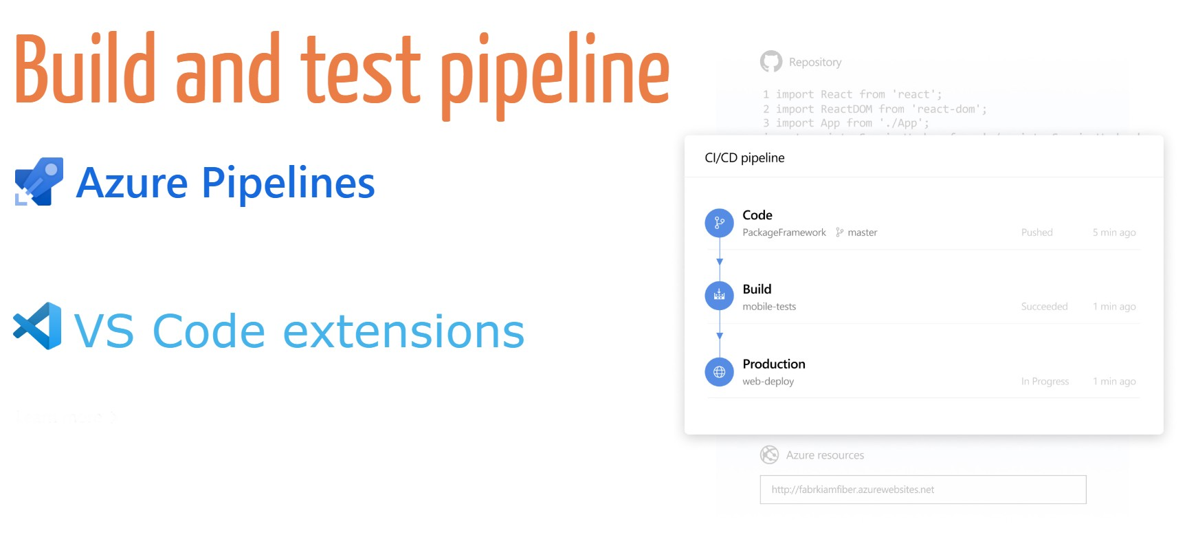 Build a CD Azure pipeline for your VS Code extension
