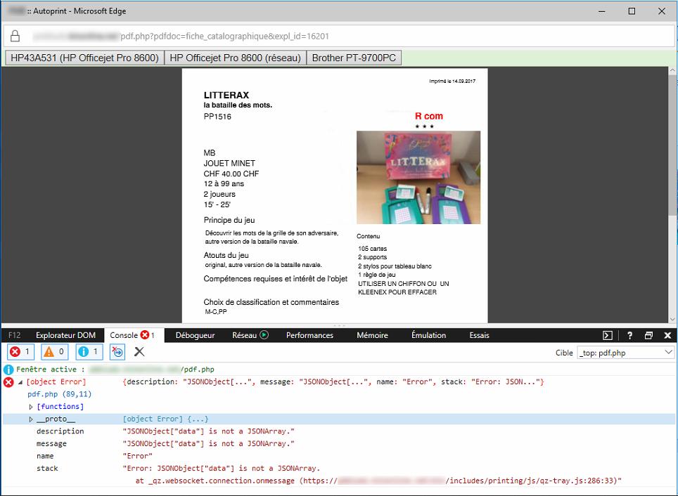 Error JSONObject[