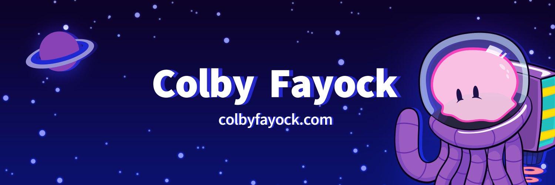 Colby Fayock - colbyfayock.com