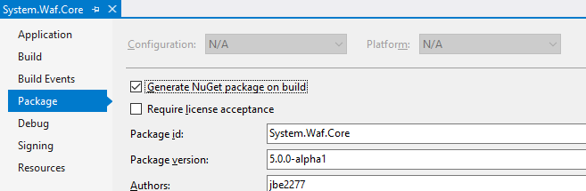 nuget-pack-version-issue