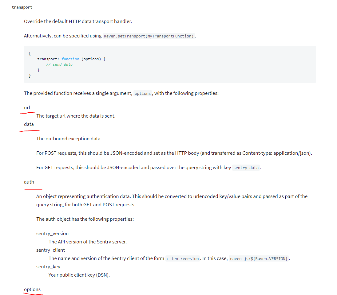 Attach HTTP headers to Sentry request · Issue #594
