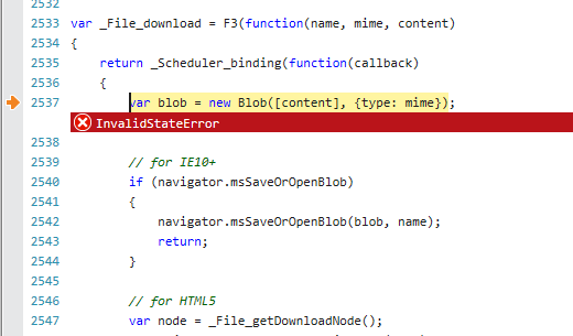 SSCCE - Arraybuffer / Blob / XHR in IE · Issue #58 · elm