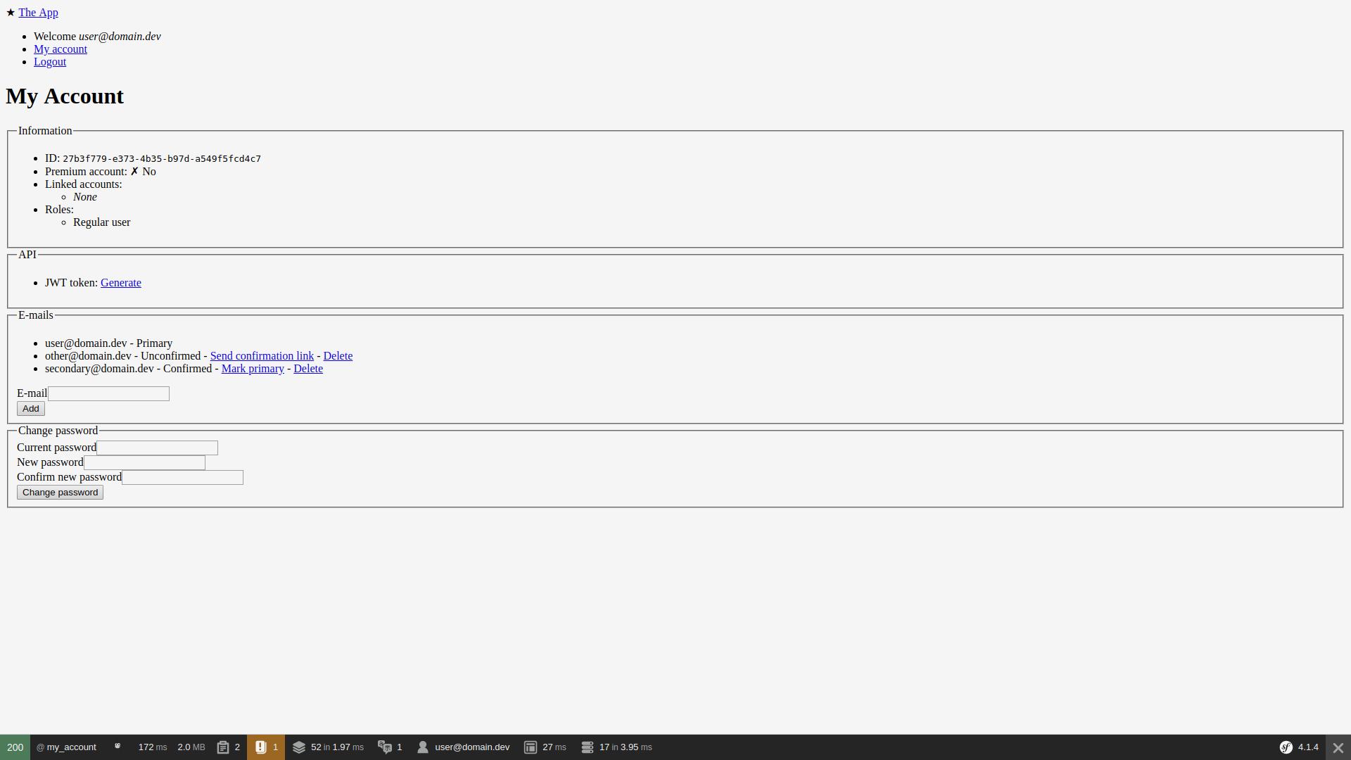 screen:profile