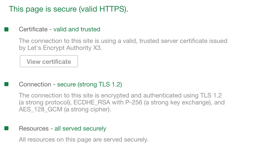 Ssl Error With Self Signed Certificate In Dev When Using Chrome 70