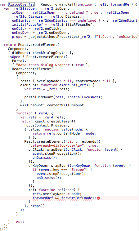 Uncaught TypeError: forwardRef is not a function · Issue