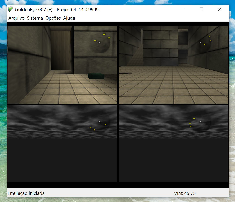GoldenEye Multiplayer - 3&4 player not rendering · Issue