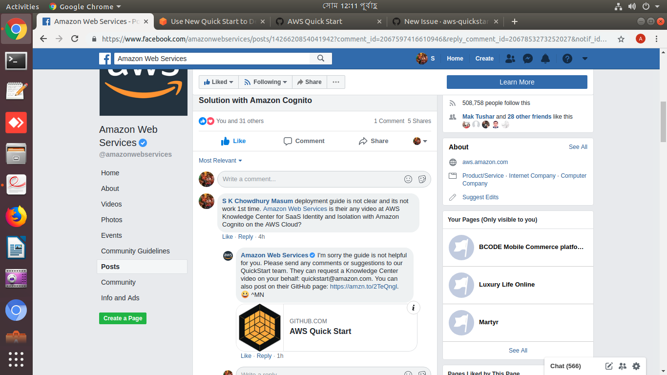 SaaS Identity and Isolation with Amazon Cognito on the AWS