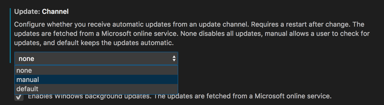 update-channel