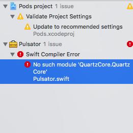 No such module \u0027QuartzCore.QuartzCore\u0027 · Issue #37 · shu223/Pulsator