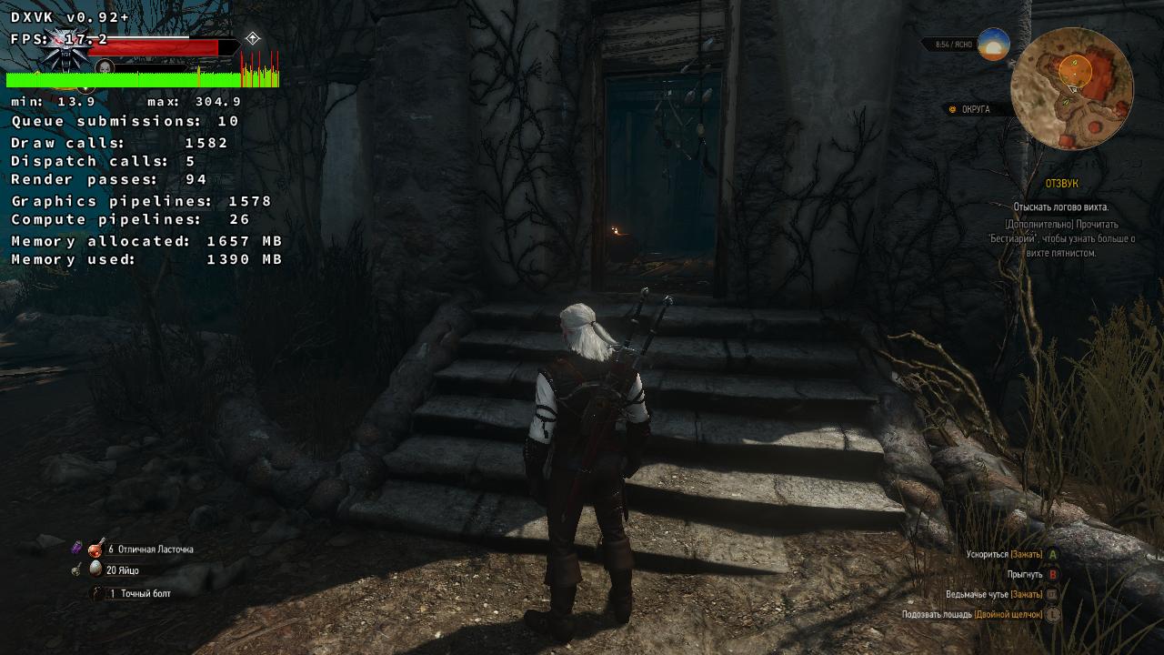The Witcher 3: FPS drops · Issue #763 · doitsujin/dxvk · GitHub